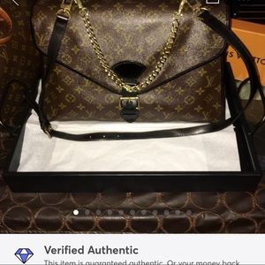 Auth Louis Vuitton Two Way Beverly Handbag